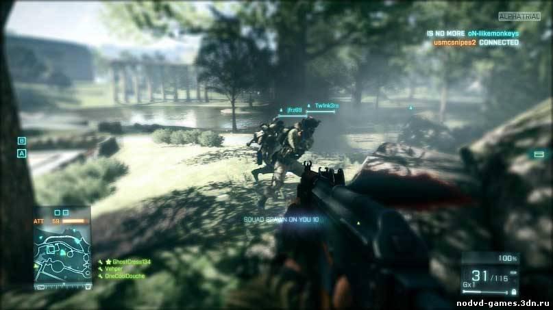 battlefield 3 прохождение смотреть