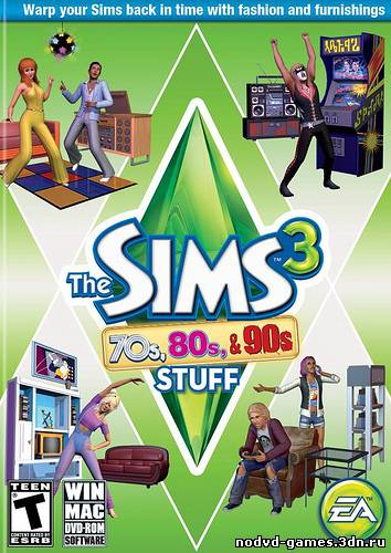 The Sims 3: 70s, 80s & 90s Stuff [v1.0 EN/RU] NoDVD + KeyGen